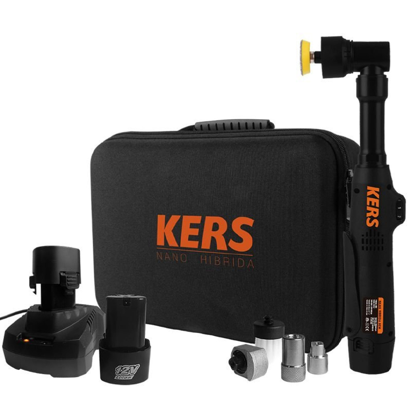 Politriz Nano Híbrida Recarregável à Bateria (80W - 12AH) Kers