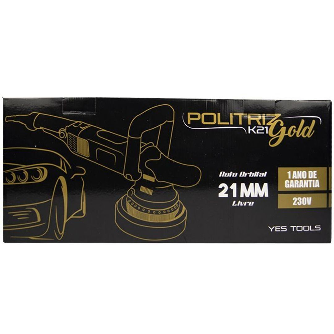 Politriz Roto Orbital K21 Gold Yes Tools 810W 230V