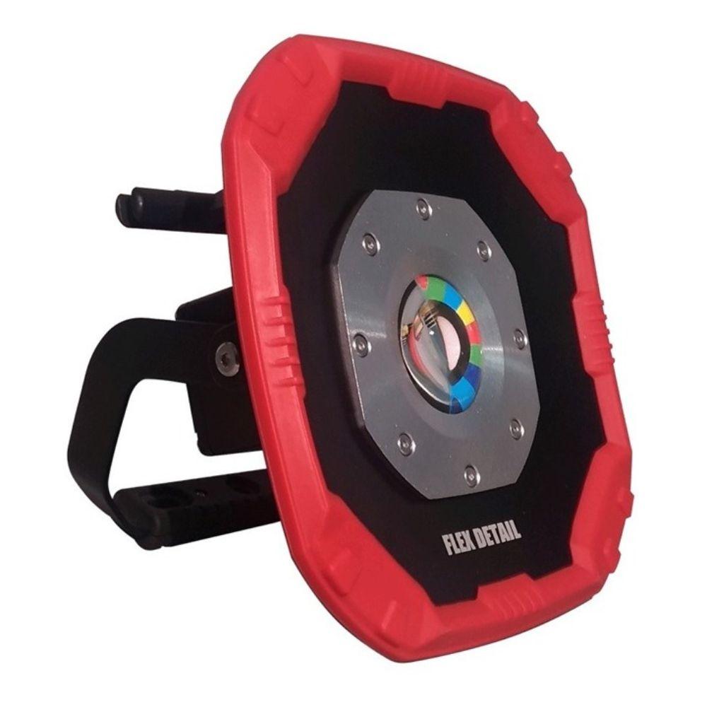 Refletor Holofote 26W Com Tripé Recarregável Flex Detail - Kers Yes Tools