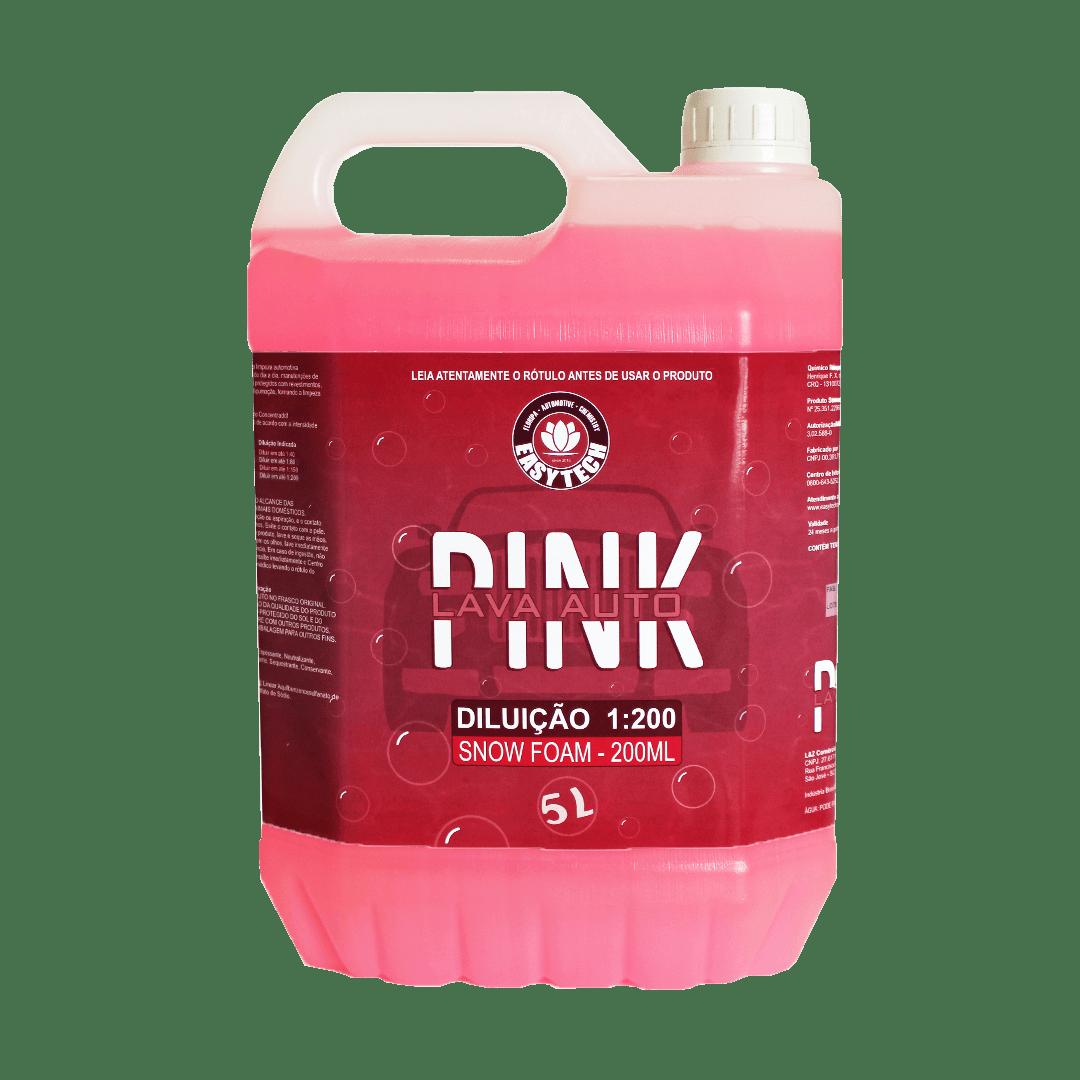 Shampoo Automotivo Pink Concentrado 5L EasyTech