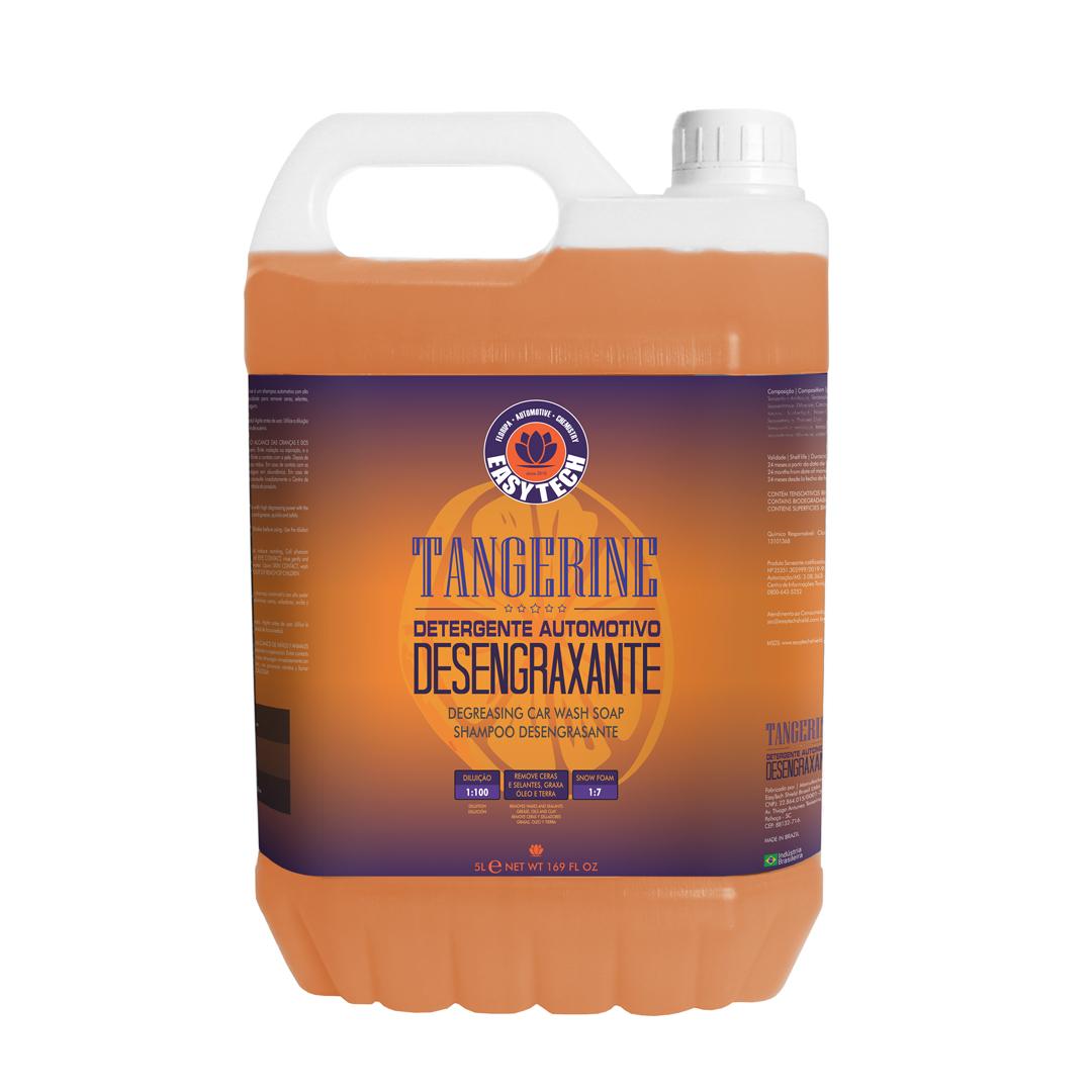EasyTech Shampoo Automotivo Tangerine Concentrado 5L