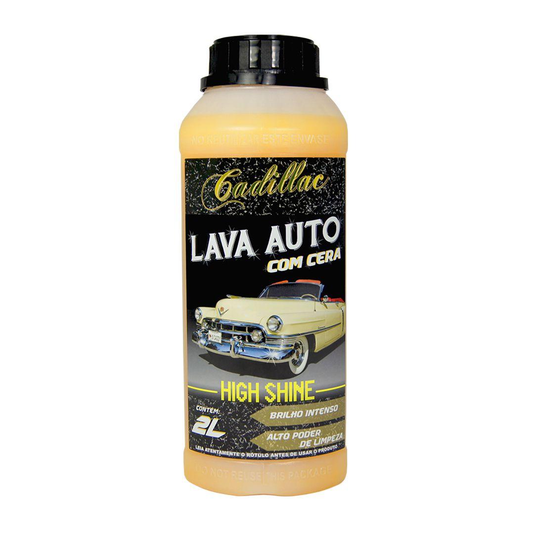 Cadillac Shampoo com Cera High Shine 2 Litros