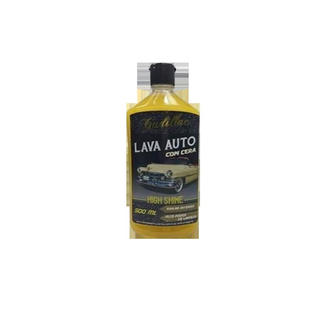 Cadillac Shampoo com Cera High Shine 500ml