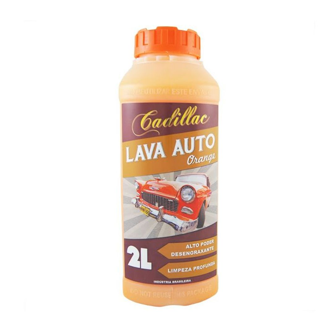 Cadillac Shampoo Desengraxante Orange 2L