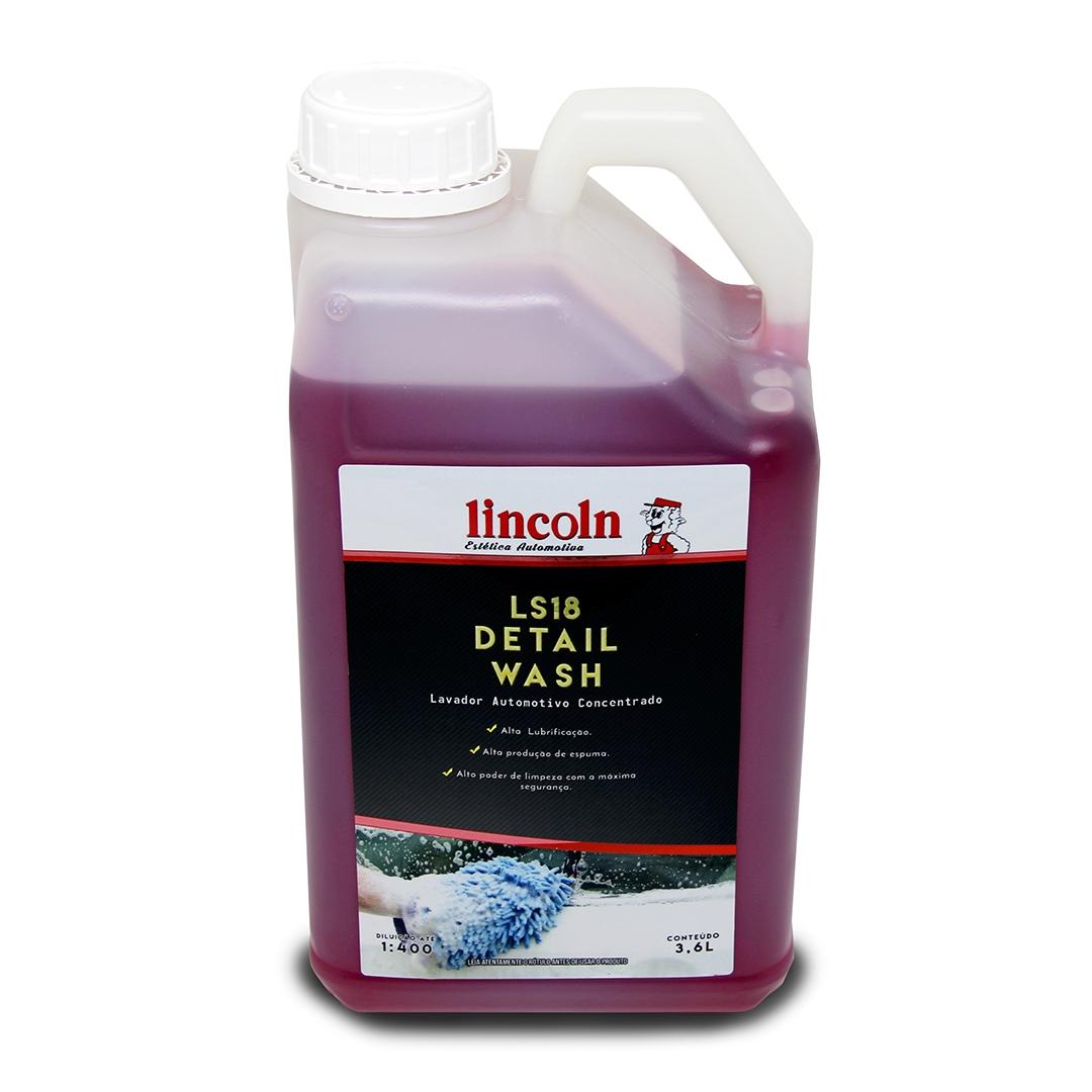 Shampoo Detail Wash LS18 3.6L Lincoln