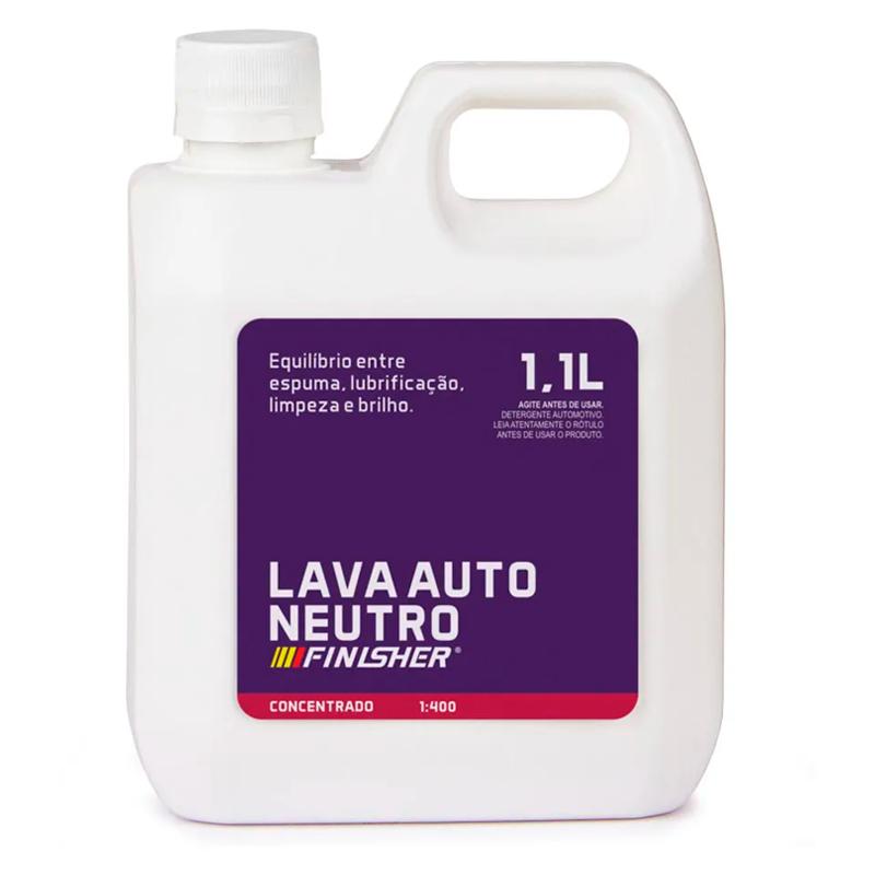 Shampoo Lava Auto Neutro 1,1 Litro Finisher
