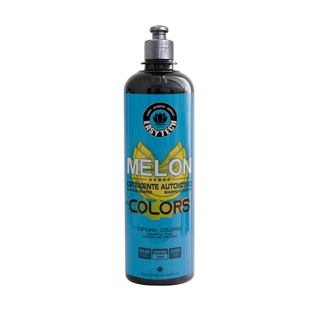 EasyTech Shampoo Melon Colors Espuma Azul 500Ml