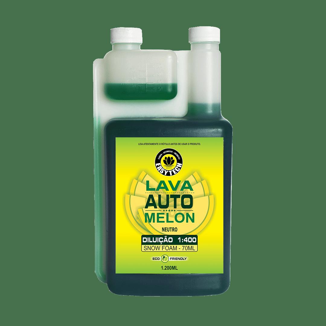 Shampoo Melon easytech 1,2 litros + Shampoo desengraxante Tangerine easytech 1,2 litros