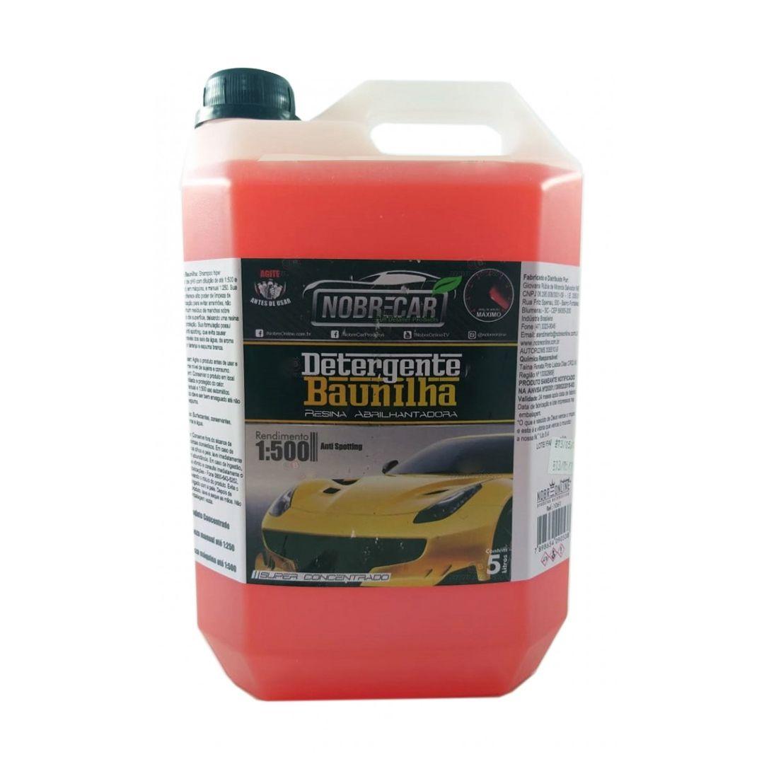 Shampoo Neutro Detergente Baunilha 5L Nobre Car