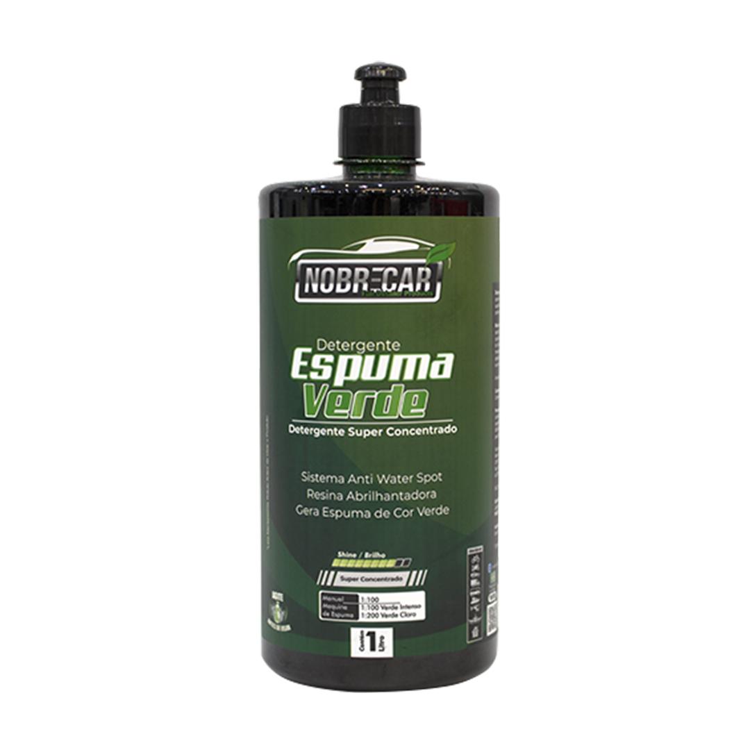 Shampoo Neutro Espuma Verde 1L Nobre Car