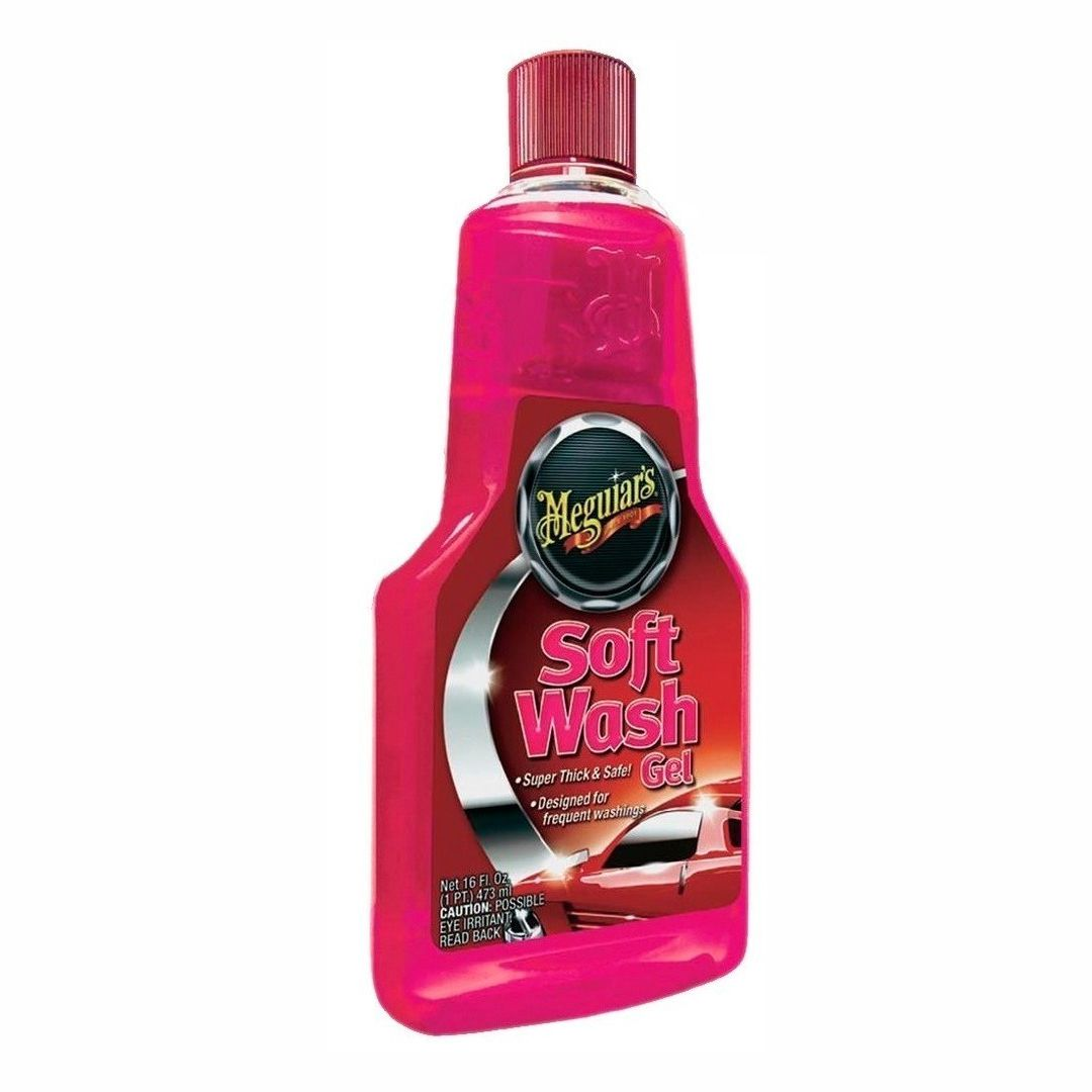 Shampoo Soft Wash Gel 473ml Meguiar's