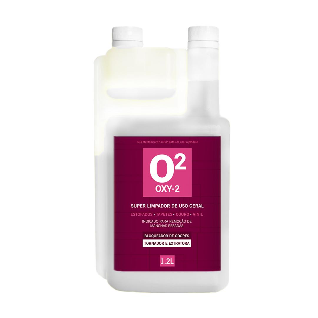 Tira Manchas Concentrado Oxy2 com Peróxido de Hidrogênio 1,2L EasyTech