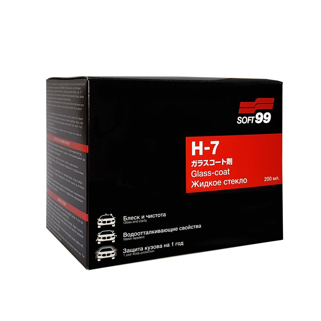 Vitrificador de Pintura H-7 (3 Anos de Duração) 200ml Soft 99