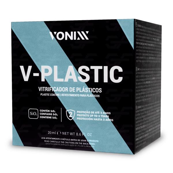 Vitrificador de Plásticos V-Plastic 20ml Vonixx