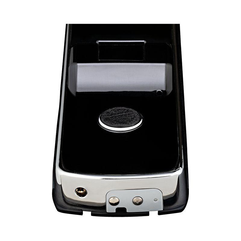 Fechadura Biométrica Pado Embutir Senha/ Chave Rolete FDE-BC201 R