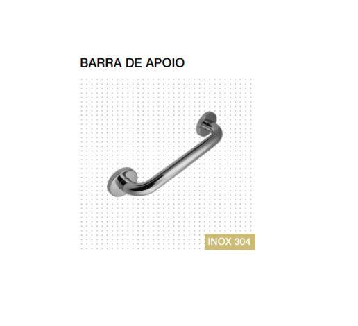 Barra de Apoio - 400mm Inox Polido