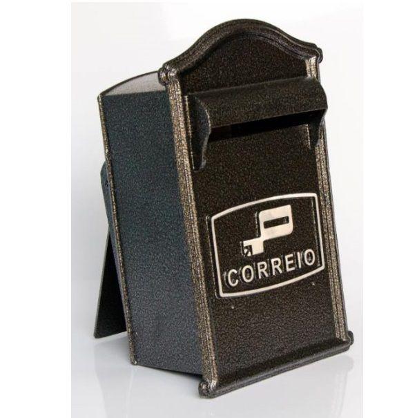 Caixa P/ Cartas Classic Prata
