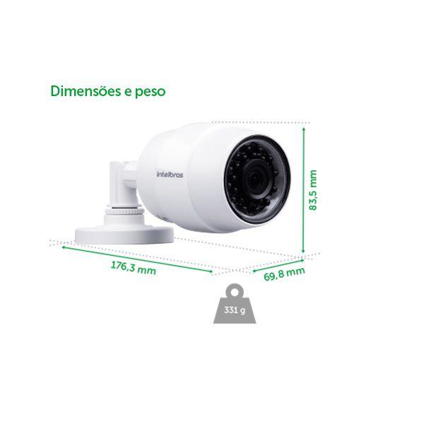 Câmera de Segurança Intelbras WI-FI IC5 - Ext