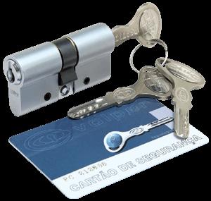 Cilindro Keso Europerfil - Cromo Acetinado - 70mm
