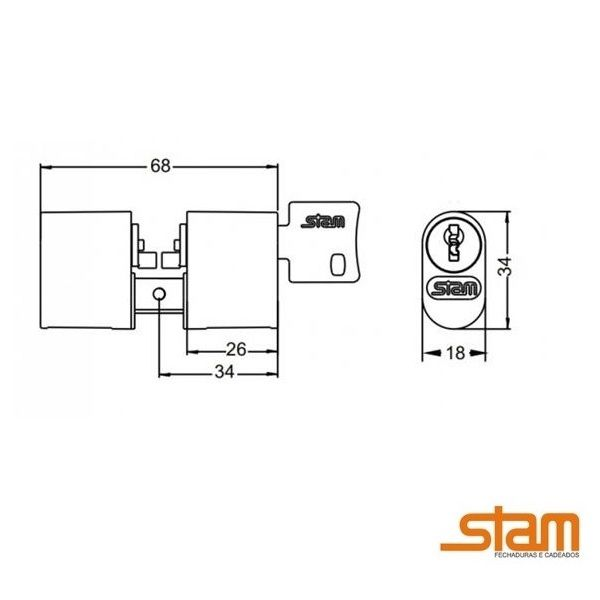 Cilindro Stam 1005/1006