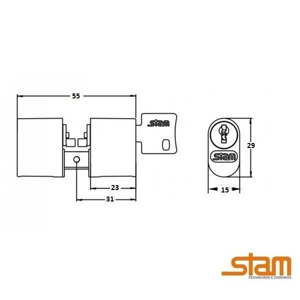 Cilindro Stam 803/804/1801