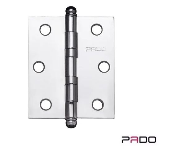 Dobradiça PADO SM 3530 c/anel CR - Reto (C/3PC)