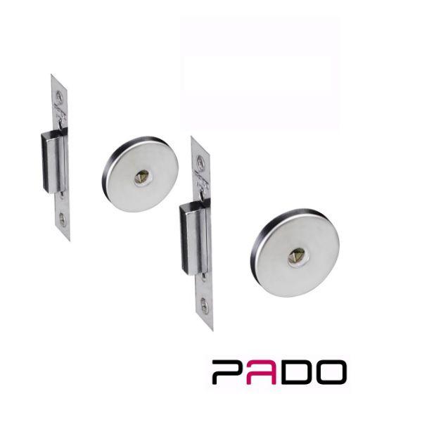 Fechadura 11000 IXP Super Trava Inox Polido -  02 Peças - Tetra Chave