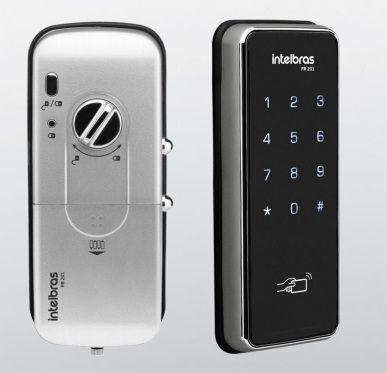 Fechadura Digital Intelbras FR201 Senha ou Cartão