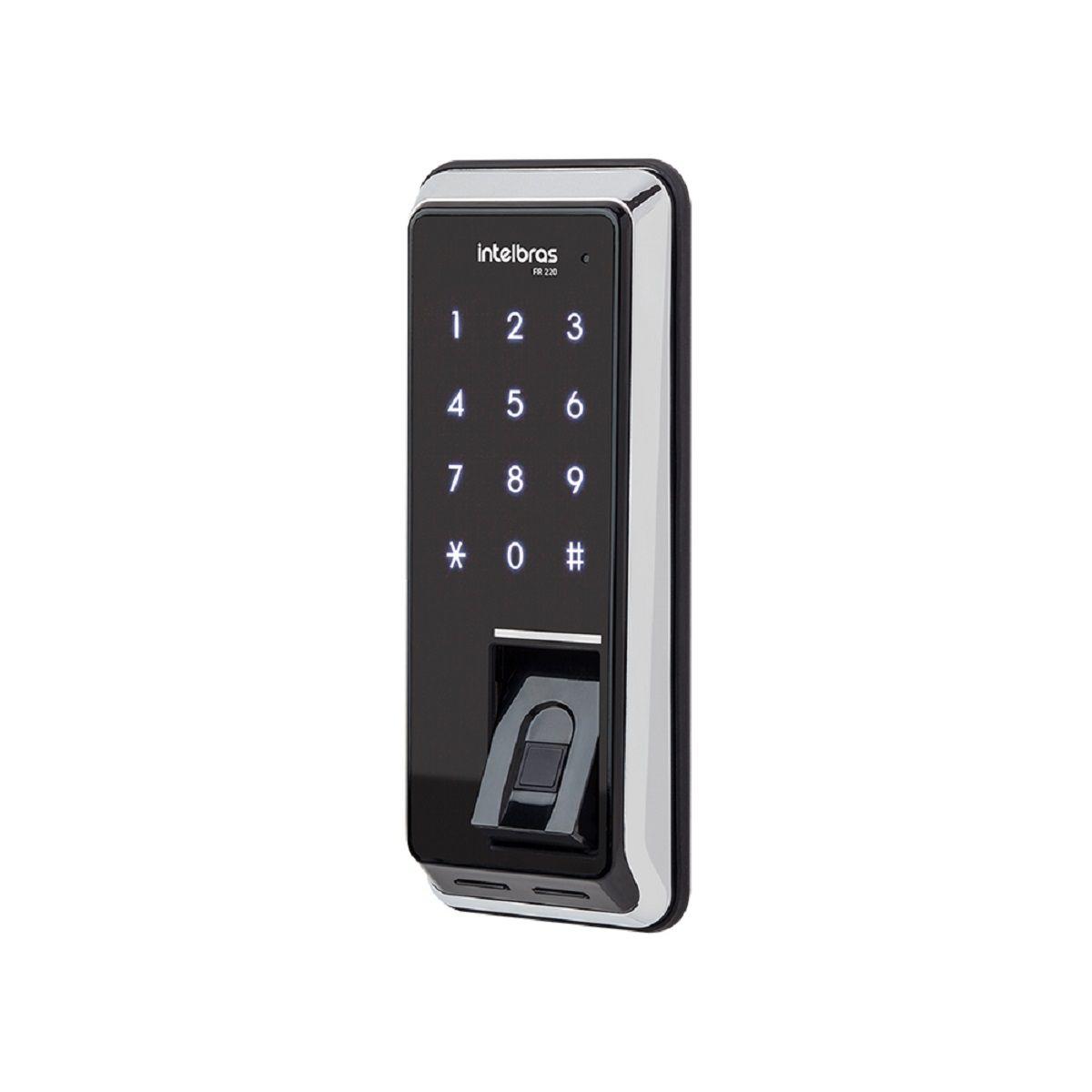 Fechadura Digital Intelbras FR220 Biométrica/Senha