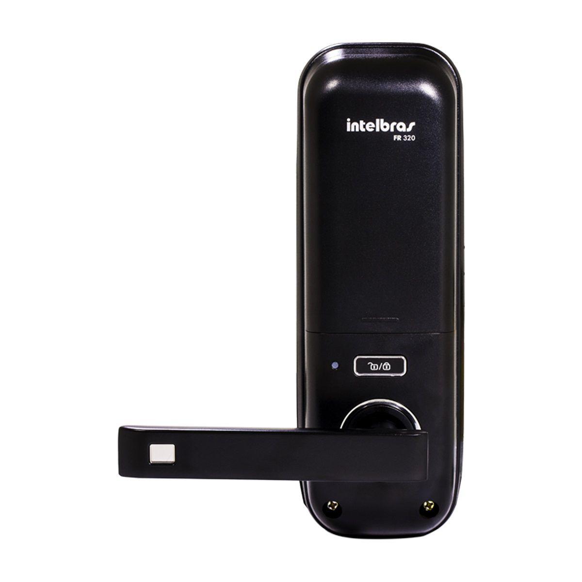 Fechadura Digital Intelbras FR320 Senha ou Cartão