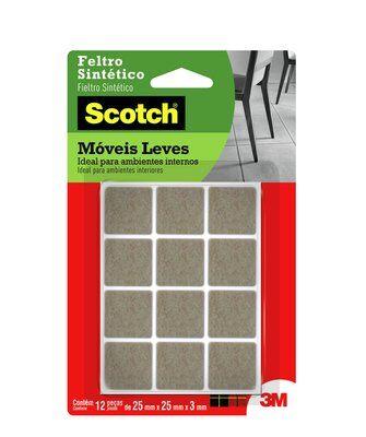Protetor Anti-Impacto 3M Scotch™ Quadrado