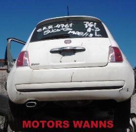 Sucata Fiat 500 Cult 1.4 2011/2012 Para Retirada de Peças