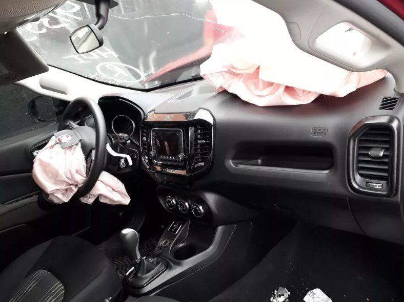 Sucata Fiat Toro Freedom 1.8 16v Flex Automática 2016 2017 Para Retirada de Peças