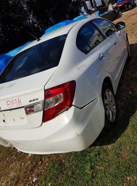 Sucata Honda Civic Exs 2.0 Flex 2012 Para Retirada de Peças
