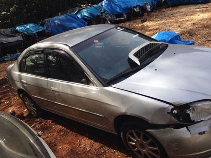 Sucata Honda Civic Lx 2002 Para Retirada De Peças