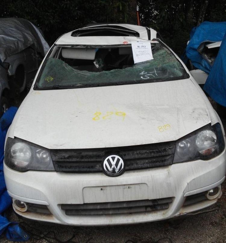 Sucata Volkswagen Golf Sportline 1.6 2010 2011 Para Retirada de Peças