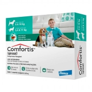 Antipulgas Comfortis 560 mg Caes 9 a 18 kg e Gatos 5,4 a 11 kg - 1 Unid