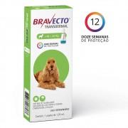 Bravecto Transdermal Caes 10 a 20KG