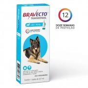 Bravecto Transdermal Caes 20 a 40KG