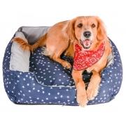 Cama para Cachorro Luxo Protect - Azul