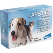 Capstar Cães e Gatos 1,0 a 11,4 kg (11,4 mg) - Caixa com 01 Comprimido