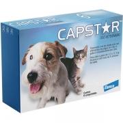 Capstar Cães e Gatos 1,0 a 11,4 kg (11,4 mg) - Caixa com 06 Comprimidos