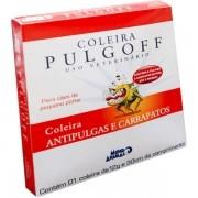 Coleira Antipulgas e carrapatos para cães pulgoff 30 CM - P