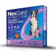 NexGard Spectra Antipulgas e Carrapatos para Caes de 15,1 a 30kg