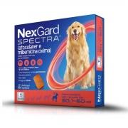 NexGard Spectra Antipulgas e Carrapatos para Caes de 30,1 a 60kg