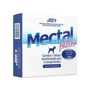 Vermifugo Mectal Plus 1980 mg Cães 30 kg - 02 Comprimidos