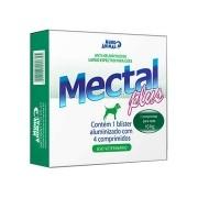 Vermifugo Mectal Plus 660 mg Caes 10 kg - 04 Comprimidos