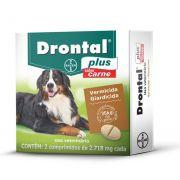 Vermifugo Para Cães Drontal Plus 35KG 2 Comprimidos
