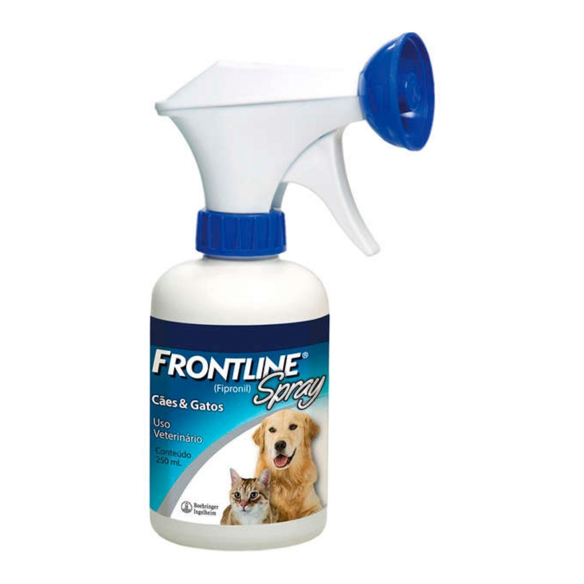 Frontline 250ml Spray para Caes e Gatos