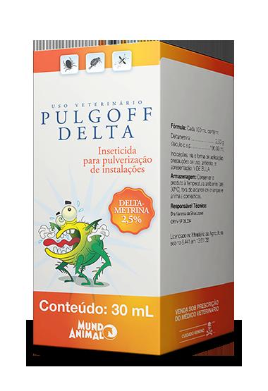 Antipulgas e Carrapatos Pulverização de Ambientes Pulgoff Delta 30 ml